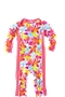 Girl's Infant Swim Romper - Paradise Floral