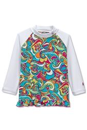 Ruffle Swim Shirt