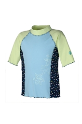 Girl's Surf Shirt Short Sleeve
