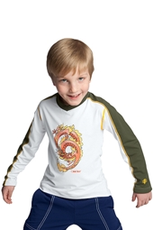 Boy's Long-sleeve Splash Guard