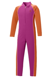 Girl's Neck to Ankle Surf Suit