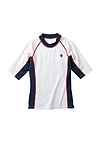 Boy's Short Sleeve Rash Guard