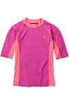Girl's Short-sleeve Rash Guard