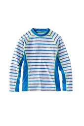 Boy's Long-sleeve Rash Guard - Print