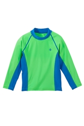 Boy's Long-sleeve Rash Guard