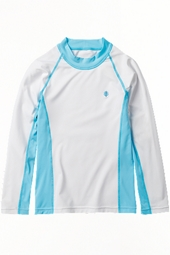 Toddler Girl's Long-sleeve Rash Guard