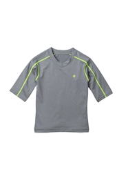 Boy's Short-Sleeve Rash Guard Swim Tee
