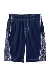 Toddler Boy's Tribal Board Shorts