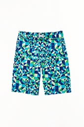 Boy's Island Swim Trunks - Jungle Geo