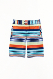 Boy's Island Swim Trunks - Sol Stripe