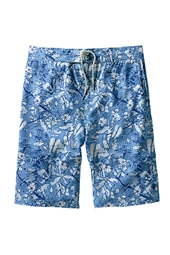 Boy's Island Board Shorts - Batik