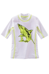 Boy's Short Sleeve Surf Shirt - Print