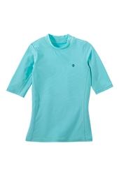 Girl's Short Sleeve Surf Shirt