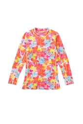 Girl's Long Sleeve Surf Shirt - Print
