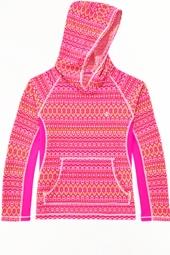 Girl's Hooded Swim Shirt