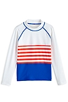 Color Block Rash Guard