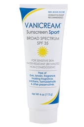 Vanicream SPF 35 Sport Sunscreen 4 oz