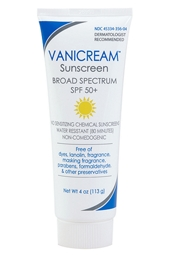 Vanicream SPF 50+ Sunscreen 4 oz