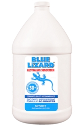 Blue Lizard SPF 30+ Sport Sunscreen 1 Gallon