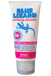 Blue Lizard SPF 30+ Baby Sunscreen 3 oz
