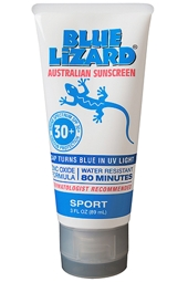 Blue Lizard SPF 30+ Sport Sunscreen 3 oz
