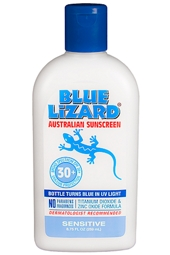 Blue Lizard SPF 30+ Sensitive Sunscreen 8.75oz