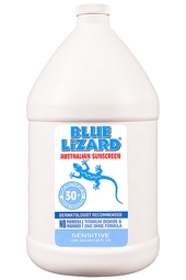 Blue Lizard SPF 30+ Sensitive Sunscreen 1 Gallon