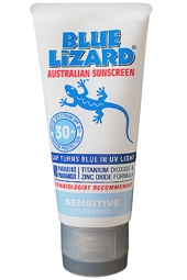 Blue Lizard SPF 30+ Sensitive Sunscreen 3 oz