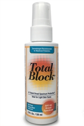 Total Block SPF 65 Clear Sunscreen 2 fl. oz