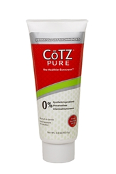 CoTZ PURE 100% Natural SPF 30 Sunscreen 3 oz