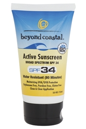 Beyond Coastal SPF 34 Active Sunscreen 2.5 oz