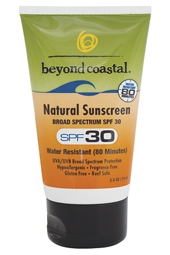 Beyond Coastal SPF 30 Natural Sunscreen 2.5 oz