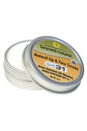 Beyond Coastal SPF 31 Natural Lip & Face Tin 0.9oz