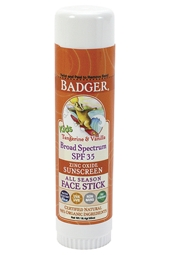 Badger SPF 35 Kids Sport Face Stick