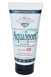 All Terrain SPF 30 AquaSport Sunscreen 3oz