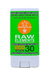 Raw Elements Eco Stick SPF 30+ Sunscreen .60 oz