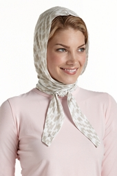 Aire Hooded Scarf - Print