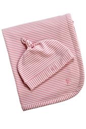Baby Beanie Hat & Blanket Set