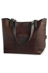 Duluth Pack Leather Market Tote