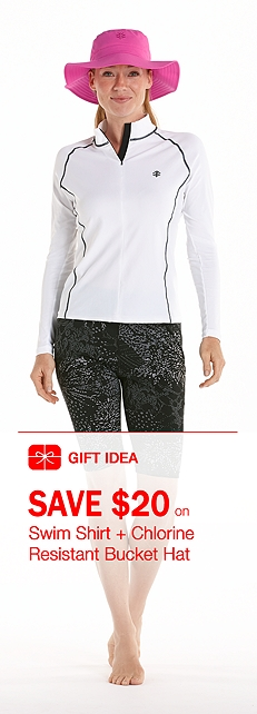 Women's Swim Shirt Outfit at Coolibar