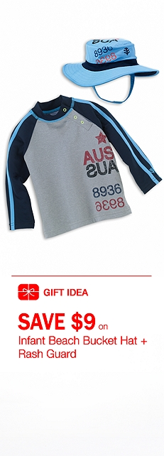 Infant Boy Rash Guard Outfit