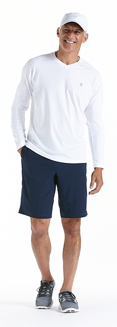 Men's Fitness Shirt Long-Sleeve Outfit