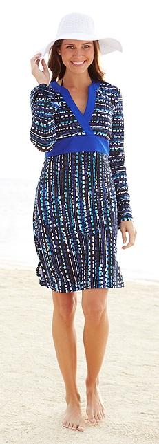Aqua Dress Outfit at Coolibar