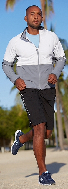 Men's Fitness Jacket Outfit at Coolibar