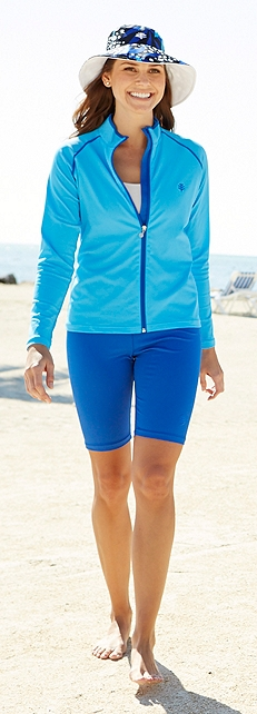 Women's Water Jacket Outfit at Coolibar