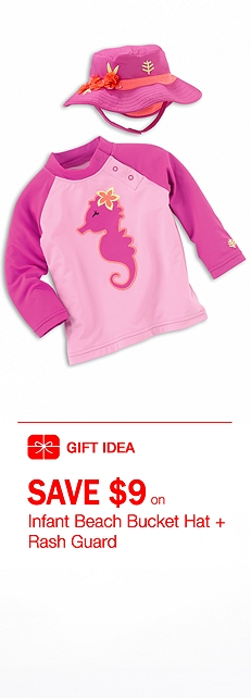 Infant Girl Rash Guard Outfit