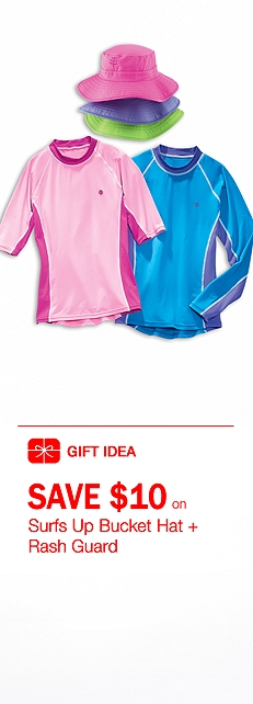 Girl's Rash Guard Outfit