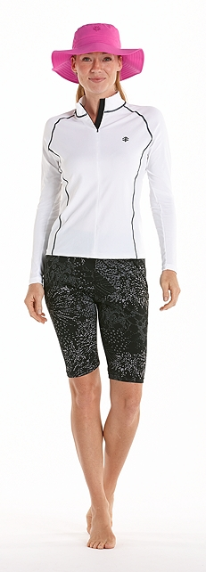 Women's Swim Shirt Outfit