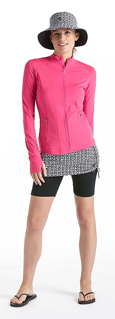 Active Swim Jacket Outfit at Coolibar