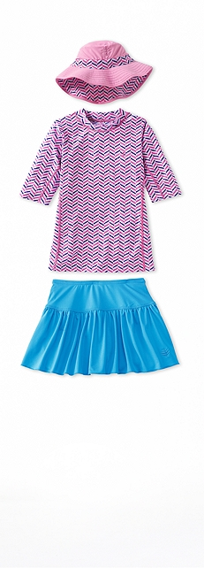 Short Sleeve Surf Shirt Zig Zag Outfit